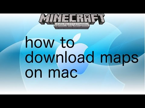 How to download minecraft xbox 360 maps on mac