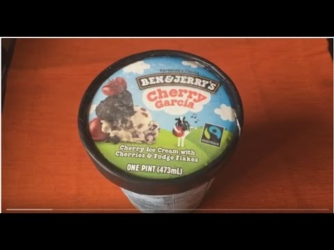 BEN & JERRY'S Cherry Garcia Review