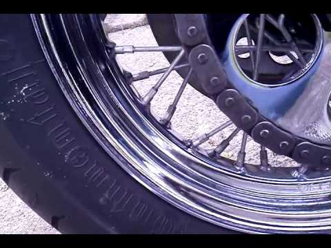 How to remove rust off your motorcycle rims part 2
