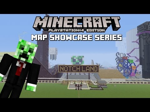 PS3/PS4 Minecraft Map Showcase: Episode 111 Notchland w/ Download
