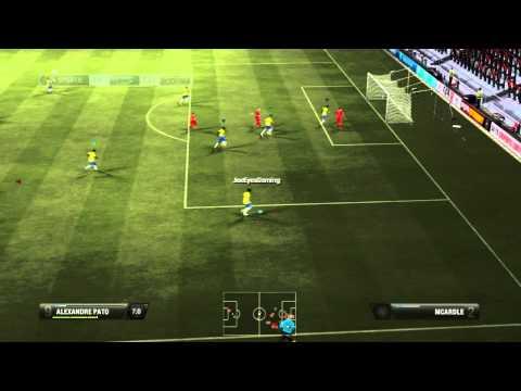 Fifa 12 Team play Aberdeen 1 Brazil 4 Open Lobby