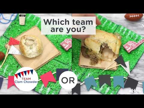 Super Bowl Snack-Off: Philadelphia vs. New England