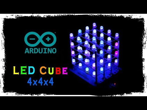 How to make LED Cube (4x4x4)