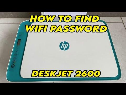 Hp printer 2600 series ka password kaise nikalte