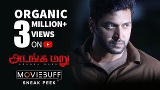 Adanga Maru - Moviebuff Sneak Peek | Jayam Ravi | Raashi Khanna | Karthik Thangavel