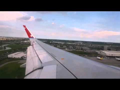 Landing in Bangkok with Nepal Airlines