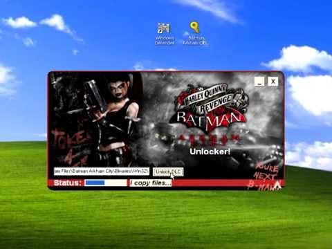 Batman Arkham City: Harley Quinns Revenge DLC UNLOCKER Free Download