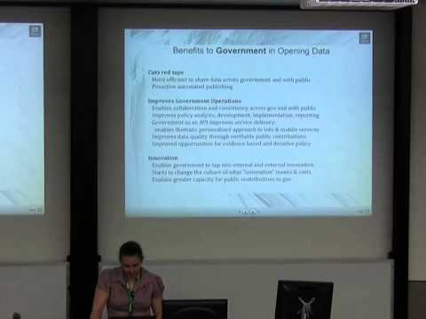 Opening up government data [linux.conf.au 2014]