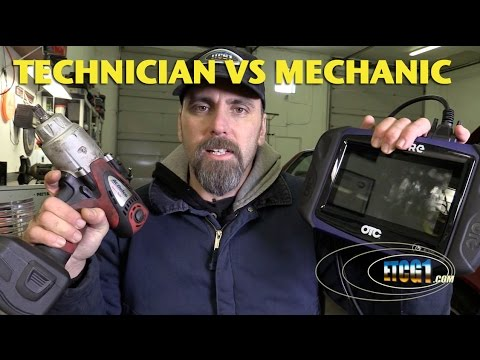 Technician vs Mechanic -ETCG1