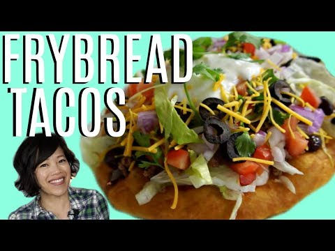 FRY BREAD & Navajo TACOS | HARD TIMES - recipes from times of food scarcity