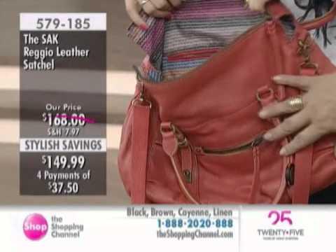The Sak Reggio Leather Satchel