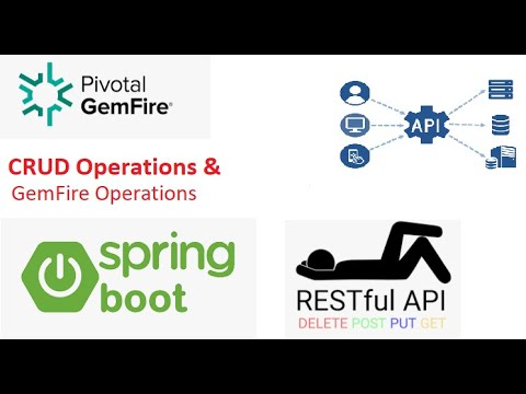 RESTFul API/Web Services(Service Center APIs) based on Spring Boot with GemFire No-SQL database