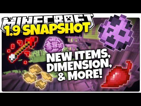 Minecraft 1.9 Snapshot   New Food, New Dimension, New Loot & More! (Minecraft 1.9 Snapshot News)