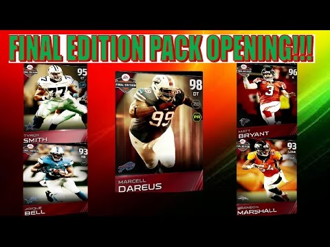 MUT 15- FINAL EDITION MARCELL DAREUS PACK OPENING!!!