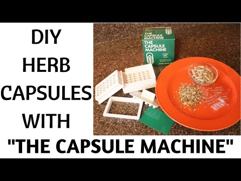 DIY DR SEBI HERB CAPSULES USING THE CAPSULE MACHINE