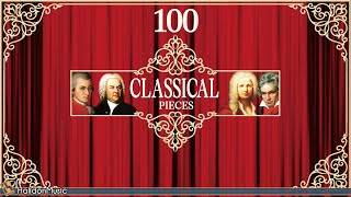 100 Classical Music Pieces - Mozart, Chopin, Vivaldi, Bach, Beethoven...