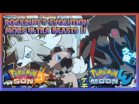 Pokémon Sun & Moon - ROCKRUFF