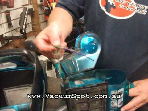 Electrolux ZUA3820P Bagless Vacuum Cleaner Turns itself off - How to fix it!