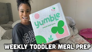 Yumble Review / Unboxing – Healthy Toddler Meal Delivery 🥦😋