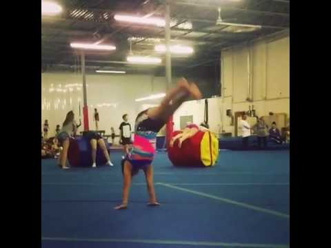 Crazy good gymnastics!