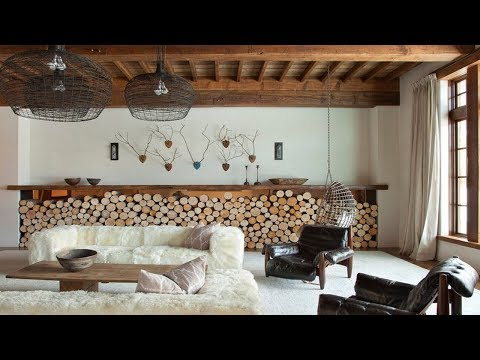Proper Firewood Storage - Ideas for Storage Space in the Living Room Garden and Outside