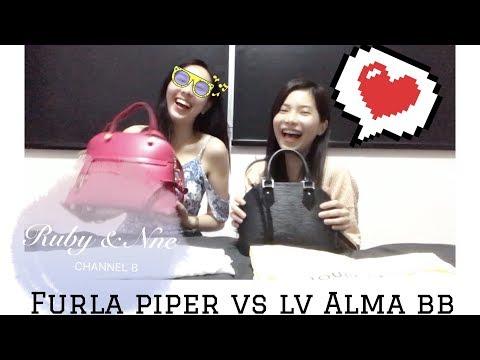 Furla Piper Small VS Louis Vuitton Alma BB Epi - Top Handle Bags Comparison