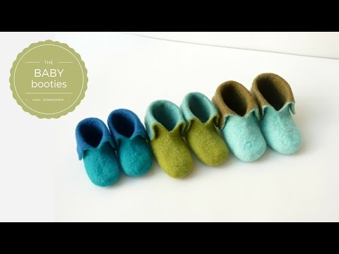 Felt Baby Booties - Introduction