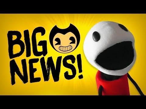 BIG BENDY NEWS! :D   Bendy and the Ink Machine