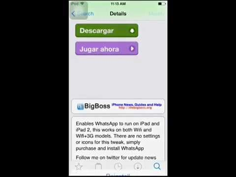 How to get Whatsapp for IPod and IPad