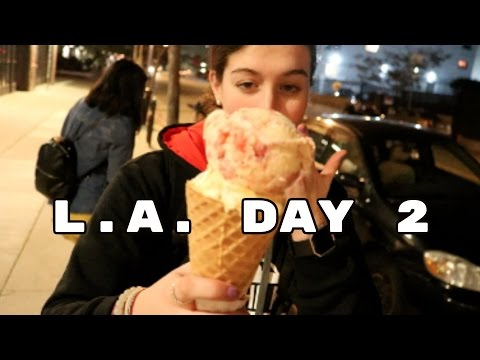 everyone's in their happy place | la day 2