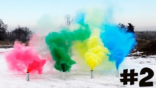 HOW TO MAKE COLORED SMOKE GRENADES #2