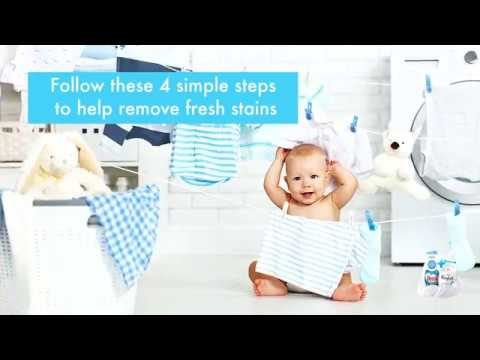 Essential Stain Removal Tips For Baby Clothes