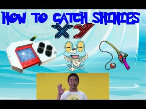 How To Catch Shiny Pokemon In X and Y (Pokeradar,Chain Fishing, Masuda Method)
