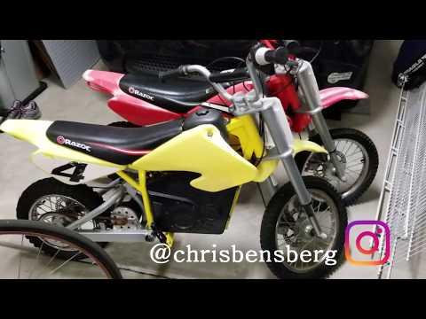 Razor MX500 MX650 Motoring & Sprocket Turning But Not Tire FIX!