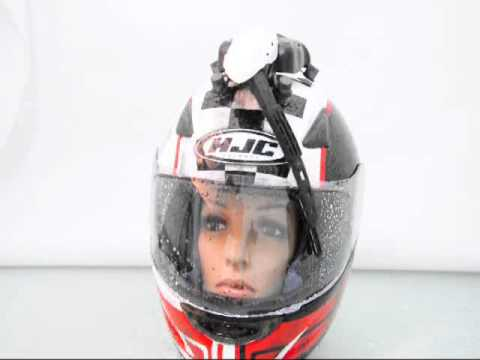 Motorcycle Helmet Grey Windsreen Wiper Windshield Clean