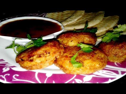 Hyderabadi Kheema Aalu Cutlets | Minced Meat Potato Cutlets | Recipe | FoodChenBySana