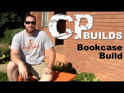 Build A Bookcase Out Of Plywood // Woodworking How-To