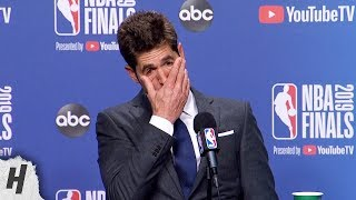 Bob Myers Gets EMOTIONAL Talking about Kevin Durant