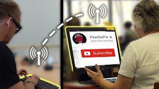 Secretly Subscribing People to PewDiePie