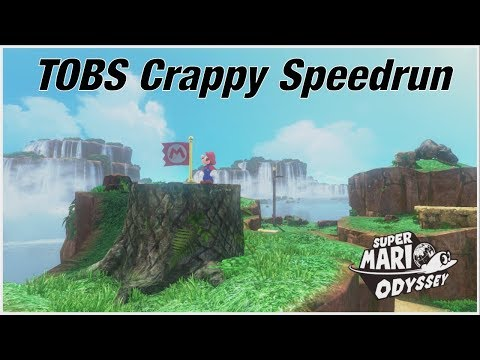 Crappy Speedruns - Top of Big Stump (Super Mario Odyssey)