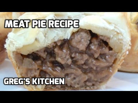 HOW TO MAKE A MEAT PIE - AUSSIE MEAT PIE RECIPE  - Greg's Kitchen