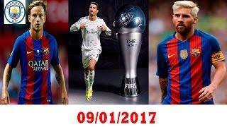 كريستيانو : the best - ميسي ينقد برشلونة من الهزيمة - راكيتش الى مانشستر سيتي