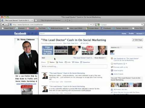 How to get a custom URL For FaceBook - tip of the day 3