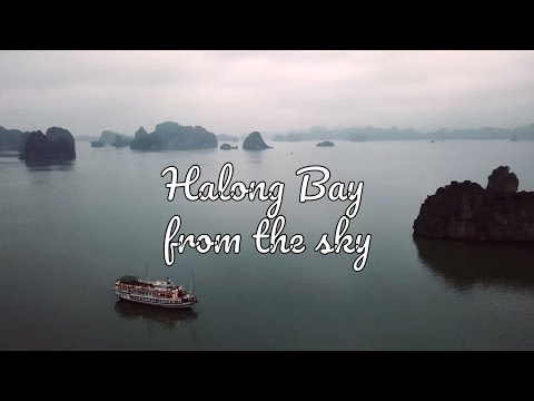 Halong Bay cruise (4K drone footage)