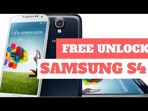 Unlock Samsung Galaxy S4 free - unlock samsung galaxy s3, s4 and s5 for free (tutorial)