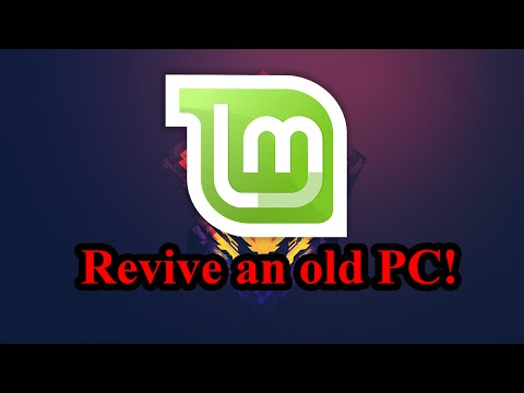 Revive an old PC! (How to install Linux Mint on a PC)