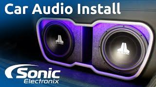 2009 Honda Civic Installation Full Car Audio System Custom Enclosure
