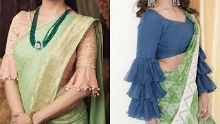 dd2baaa1f8688 Latest Trendy Blouse Sleeves Designs beautiful designer blouse sleeves  designs For modern party look