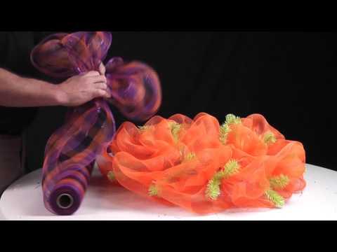 Deco Mesh Wreath Ideas Video