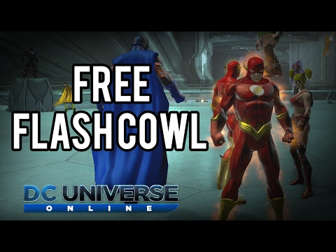 DCUO | Free Flash Cowl from the Marketplace!
